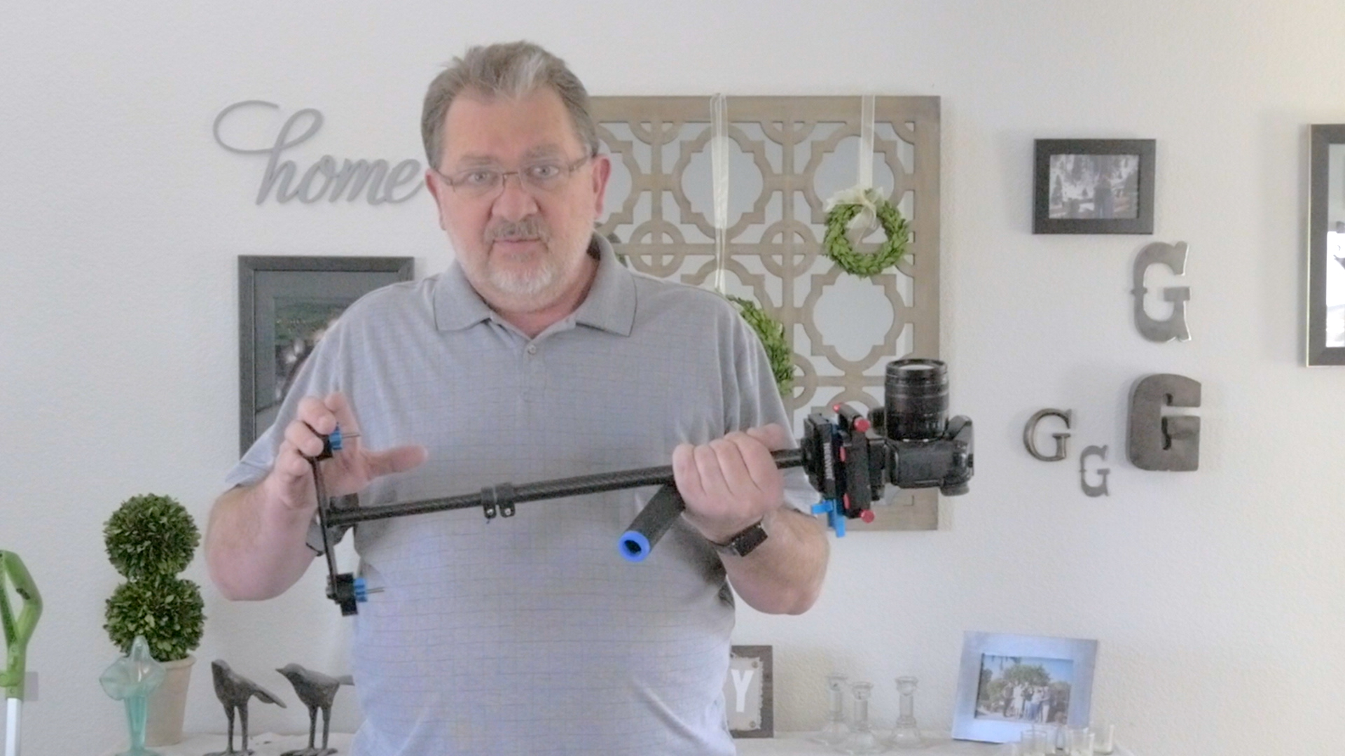 Using a Glidecam – Balancing a Glidecam